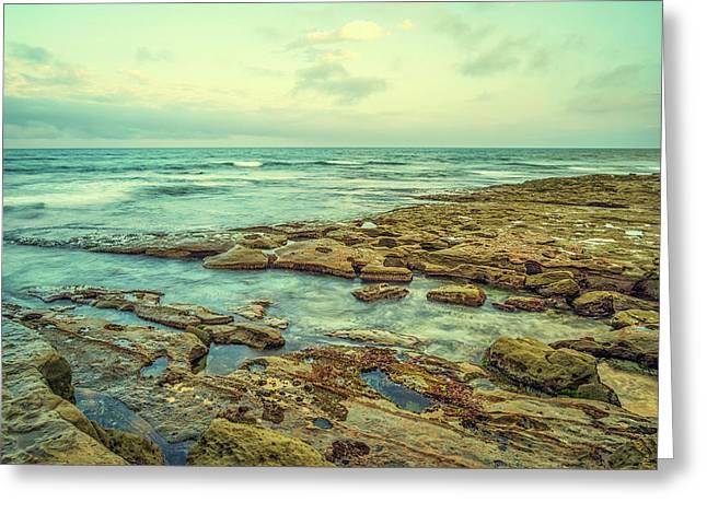 Stone And Sea Greeting Card