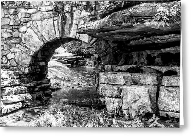 Stone Arch Greeting Card by Wade Courtney