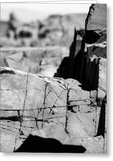 Stone Architecture Greeting Card