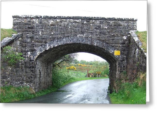Stone Bridge In Ireland Greeting Card