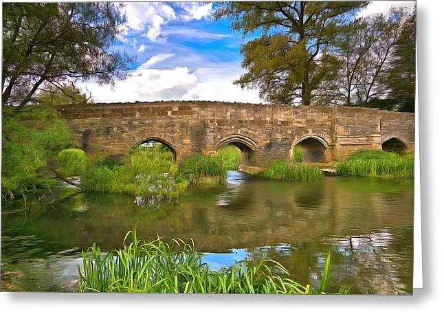 Stone Bridge Greeting Card