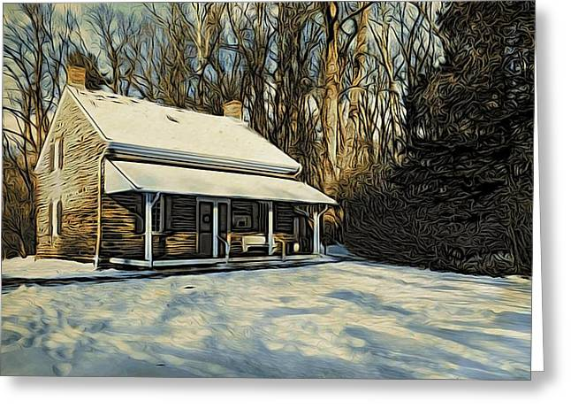Stony Brook Meeting House Greeting Card