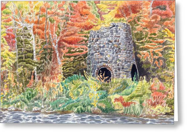 Stone Furnace Greeting Card