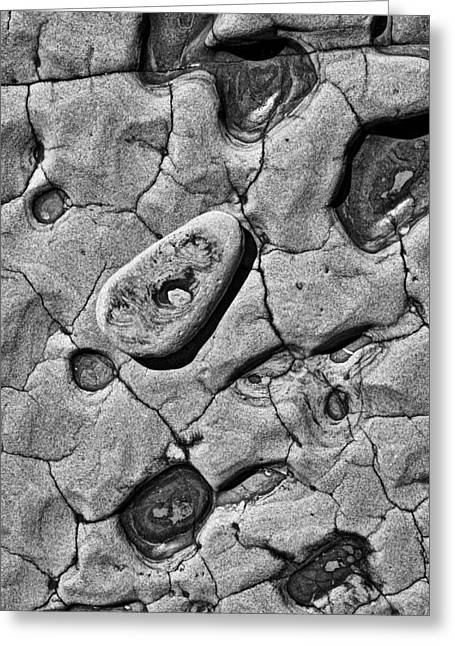 Stone Holes Greeting Card