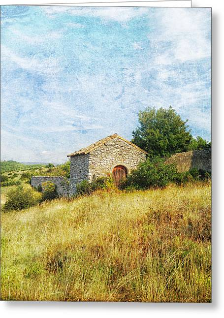 Provence Countryside Greeting Card