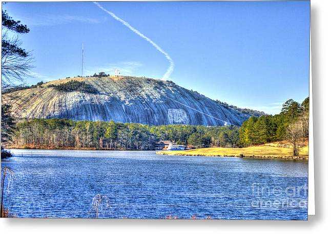Stone Mountain Park Summit Greeting Card