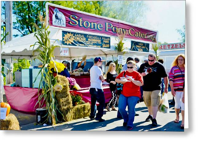 Stone Pony Catering Greeting Card