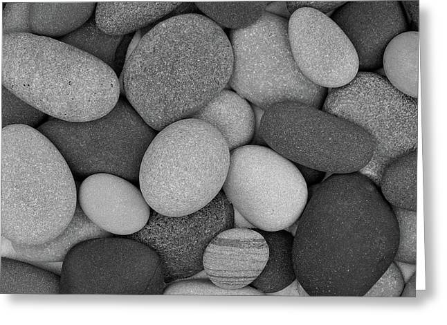 Stone Soup Black And White Greeting Card
