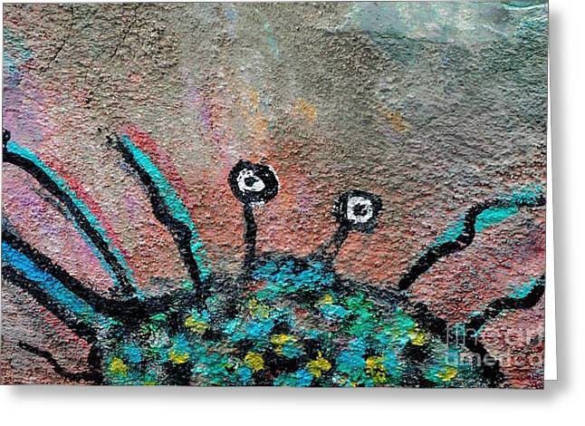 Stone Spider Greeting Card