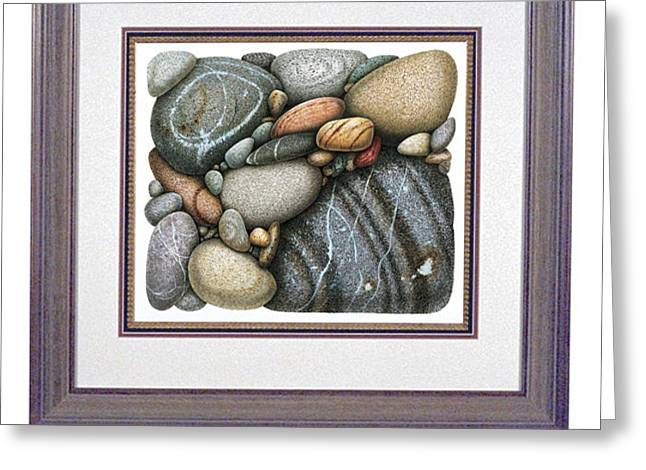 Stone Study Greeting Card by JQ Licensing