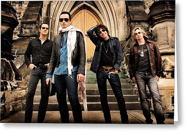 Stone Temple Pilots Greeting Card