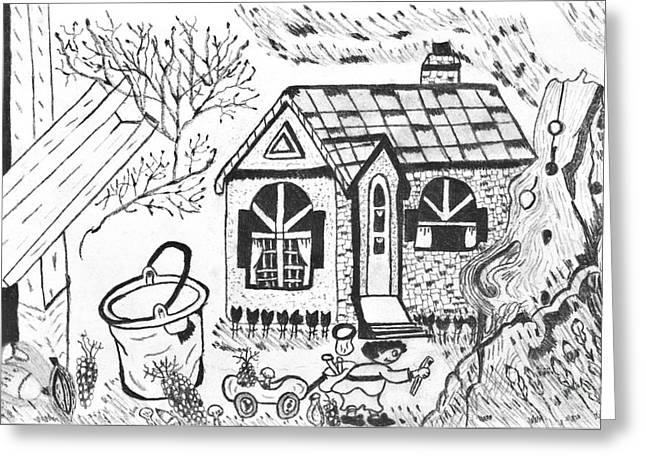 Stonegate Cottage Greeting Card