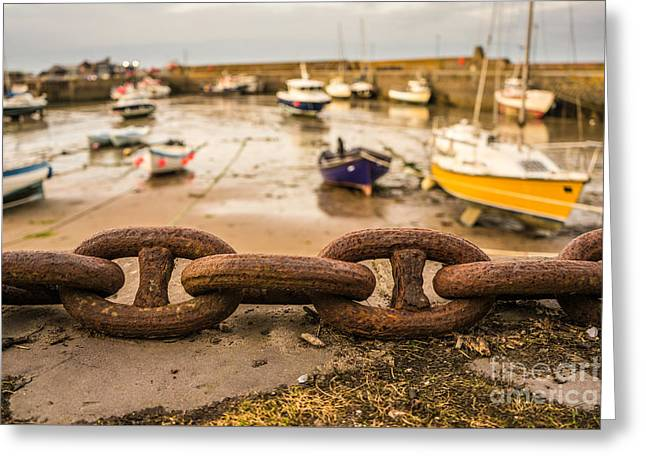 Stonehaven Chain Greeting Card