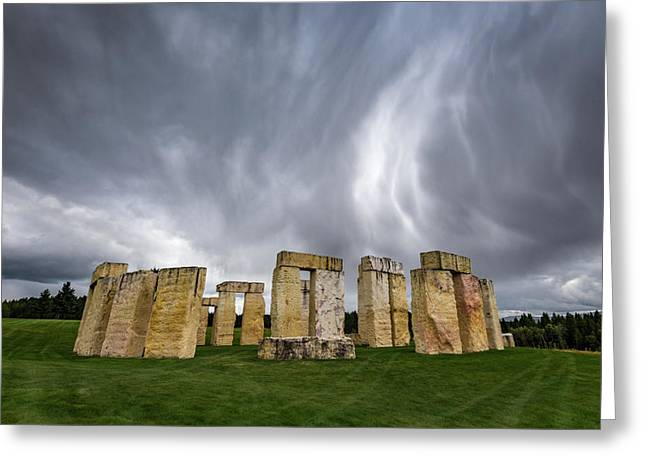 Stonehenge Greeting Card