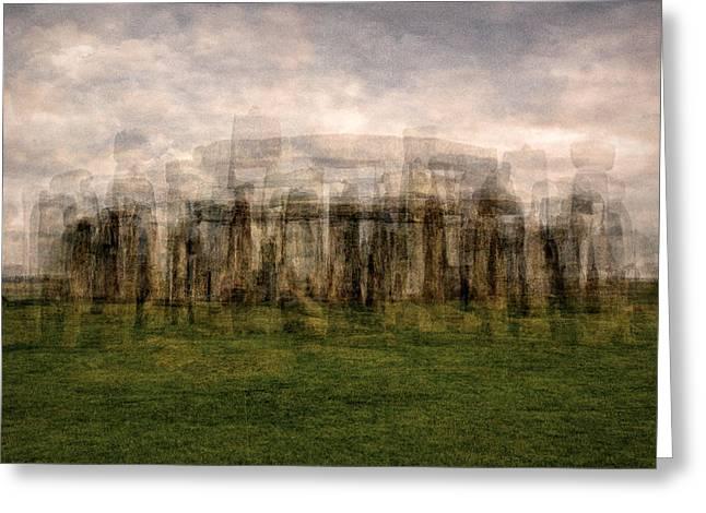 Stonehenge Greeting Card by Denis Bouchard