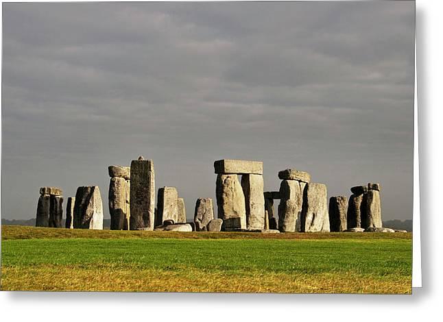 Stonehenge, England, Uk Greeting Card by Dutourdumonde Photography