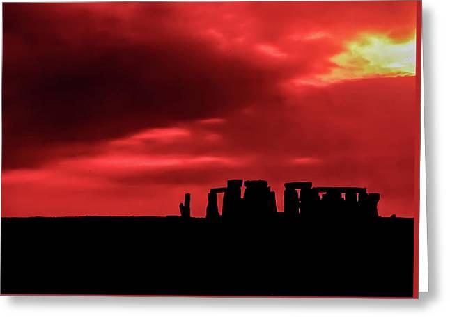 Stonehenge II Greeting Card by Steve Harrington