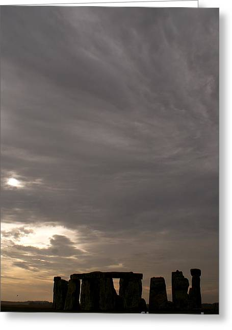Greeting Card featuring the photograph Stonehenge by Louise Fahy