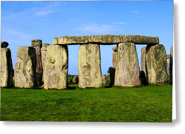 Stonehenge No 2 Greeting Card by Kamil Swiatek