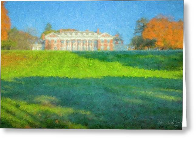 Stonehill College In October Greeting Card