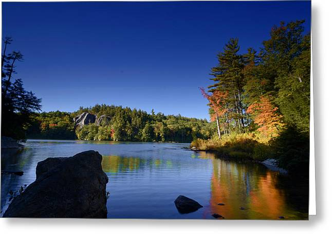 Stonehouse Colors Greeting Card by Ron Hebert