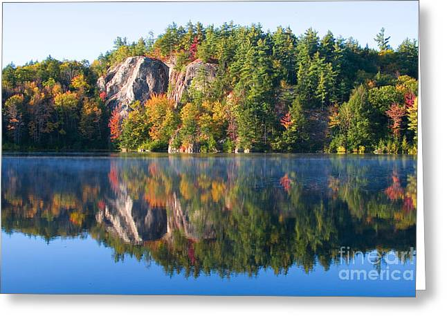 Stonehouse Pond, New Hampshire Greeting Card by Larry Landolfi
