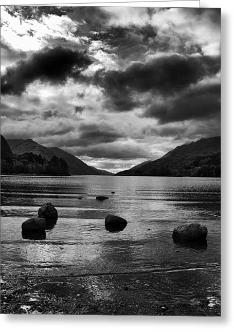 Greeting Card featuring the photograph Stones by Adrian Pym