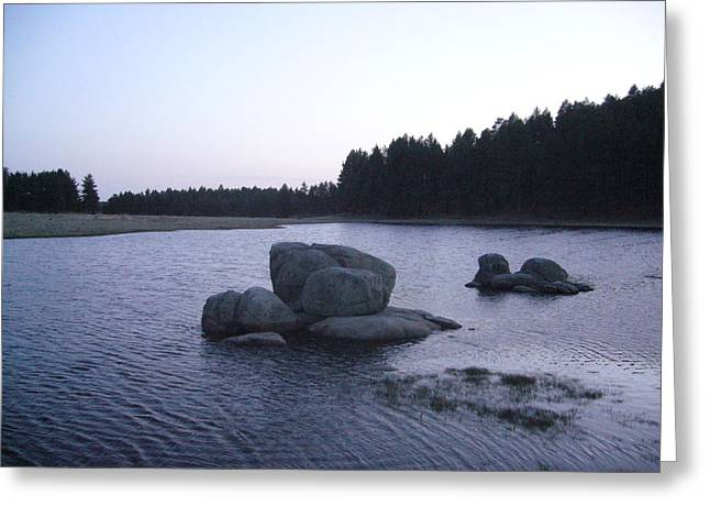 Stones Of Serenity Greeting Card