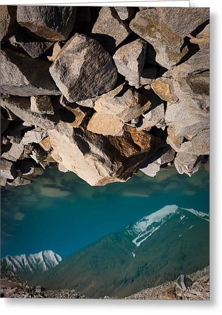 Stones Of Summits Greeting Card