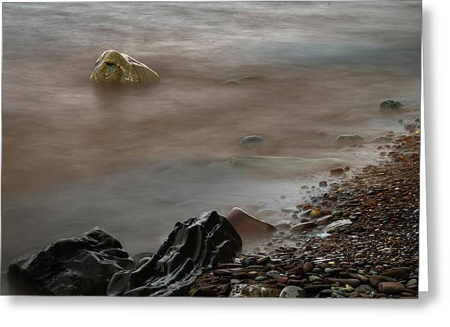 Stones On The Shore Of Lake Superior Greeting Card