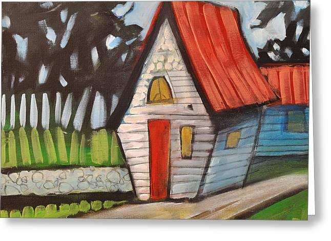 Stonewall Cottage Greeting Card by Tim Nyberg
