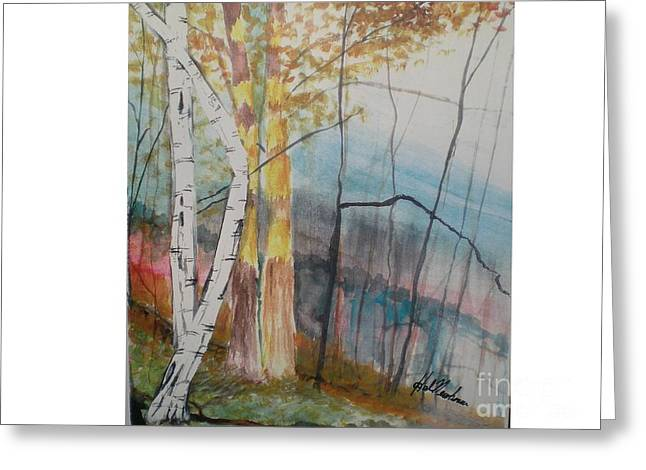 Stoney Brooke Park Greeting Card by Hal Newhouser