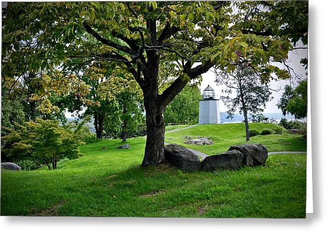 Stony Point Landscape Greeting Card