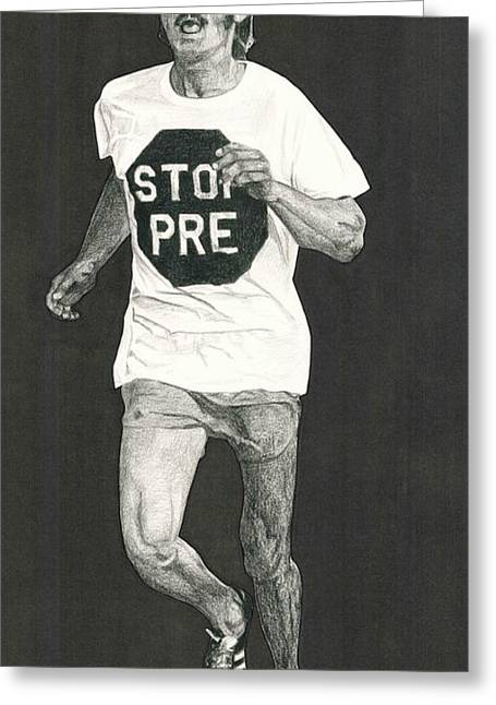 Stop Pre Greeting Card
