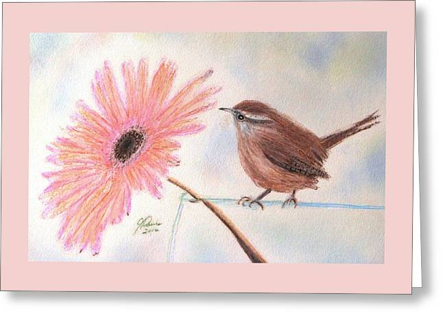 Stopping By To Say Hello Greeting Card