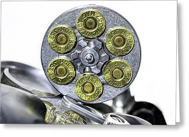 Stopping Power Greeting Card by JC Findley