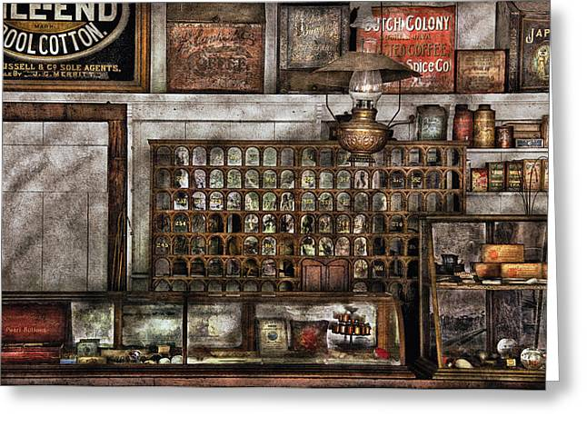 Store - For All Of Your Needs And Supplies Greeting Card by Mike Savad