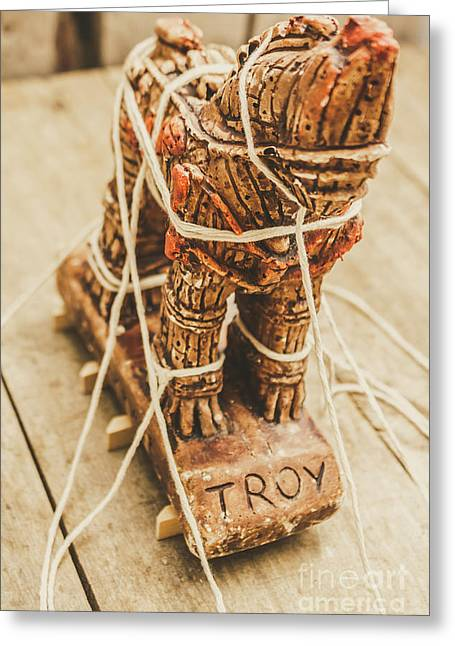 Stories From Ancient Troy Greeting Card