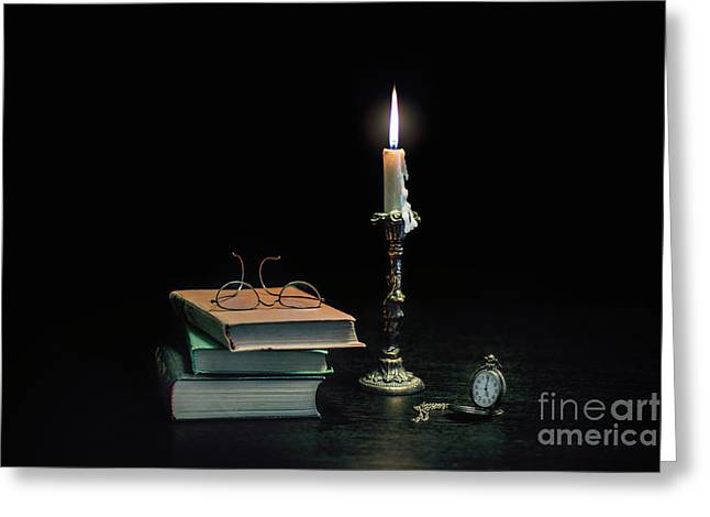 Stories In The Dark Greeting Card