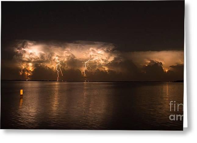 Storm Before Dawn Greeting Card by Quinn Sedam