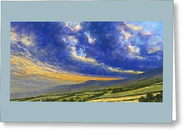 Storm Brewing In Donegal Greeting Card