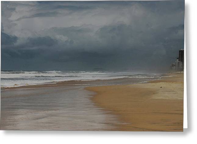 Storm Brewing On The Gold Coast Greeting Card