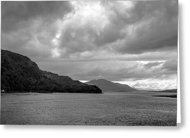 Storm On The Isle Of Skye, Scotland Greeting Card