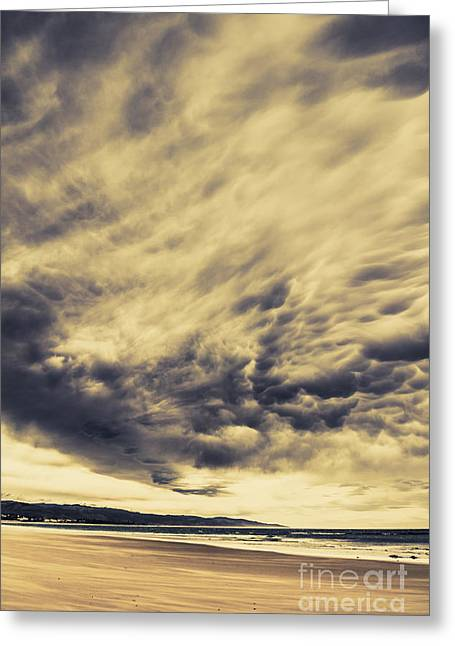 Storm Cloud Formation Greeting Card by Jorgo Photography - Wall Art Gallery