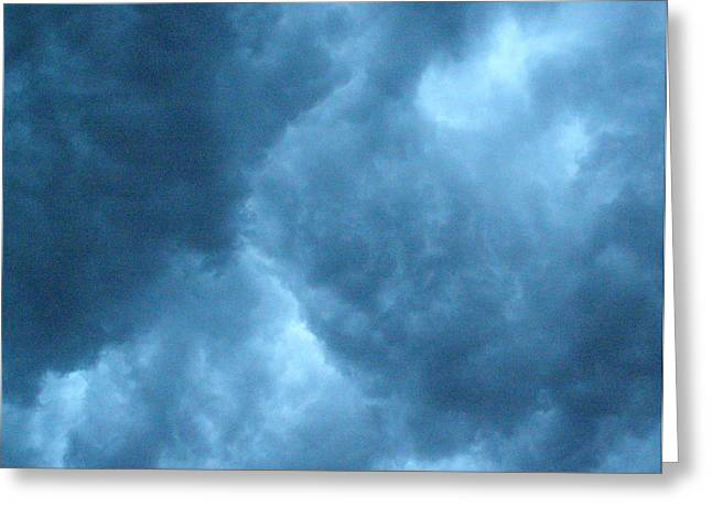 Greeting Card featuring the photograph Storm Clouds by Angie Rea