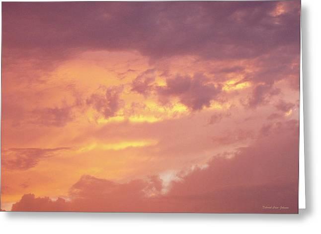 Storm Clouds Greeting Card by Deborah  Crew-Johnson