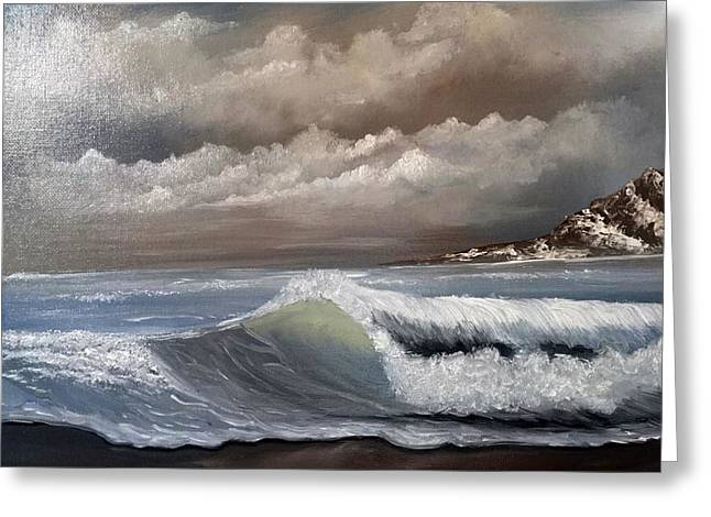 Storm Clouds Greeting Card by Janet Jackson
