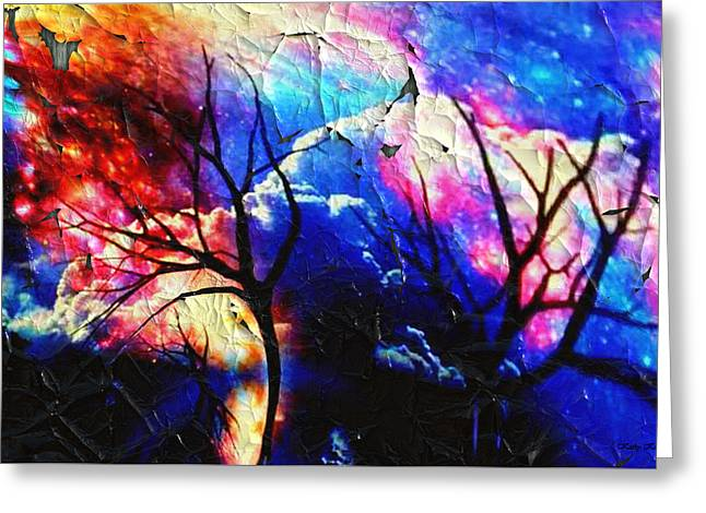 Storm Clouds Greeting Card by Kathy Kelly