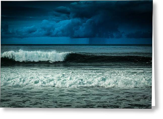Storm Clouds On The Horizon Greeting Card