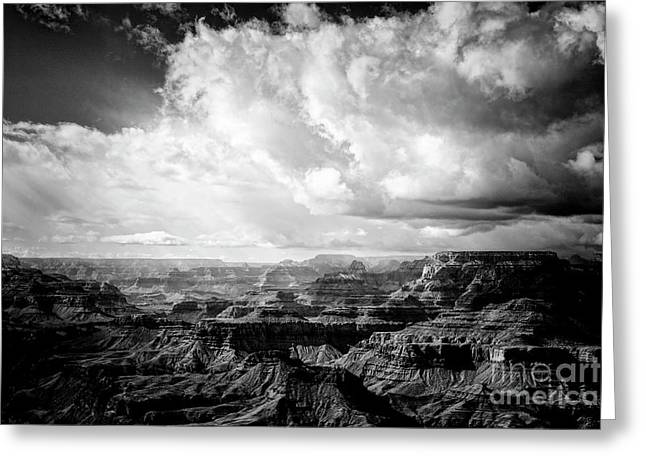 Greeting Card featuring the photograph Storm Clouds by Scott Kemper